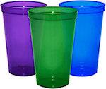 22oz Blank Translucent Stadium Cups